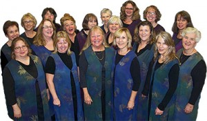 Mountain Melody: Women's Chorus of Calaveras group photo