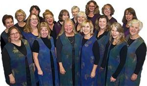 Mountain Melody: Women's Chorus of Calaveras group photo