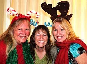Julie, Vicki and Lesley