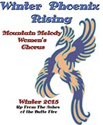 Mountain Melody's Poster Winter Phoenix Rising: Up form the Ashes of the Butte Fire