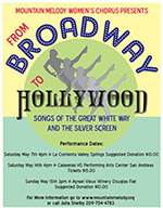 From Broadway to Hollywood: Songs of the Great White Way and the Silver Screen poster