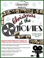 Christmas at the Movies flyer