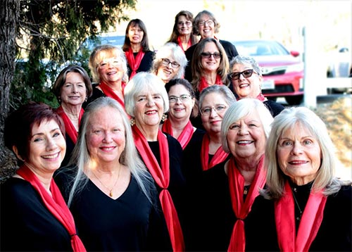 Mountain Melody: Group Photo taken in 2018