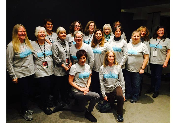 Mountain Melody Chorus Wearing Tee Shirts